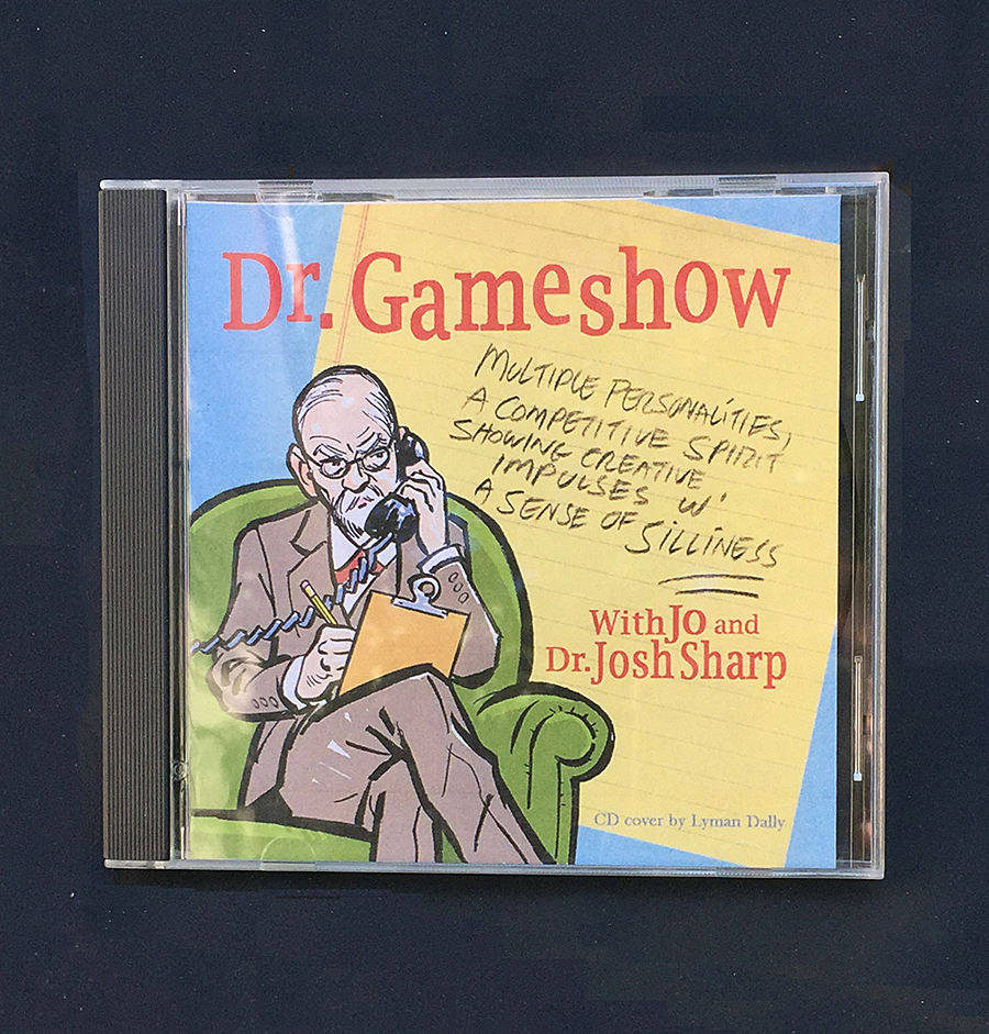 Dr. Gameshow CD with art by Lyman Dally